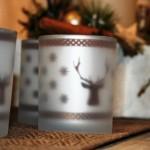 Dekorative Teelichter