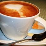 Kaffee mit Liebe gemacht